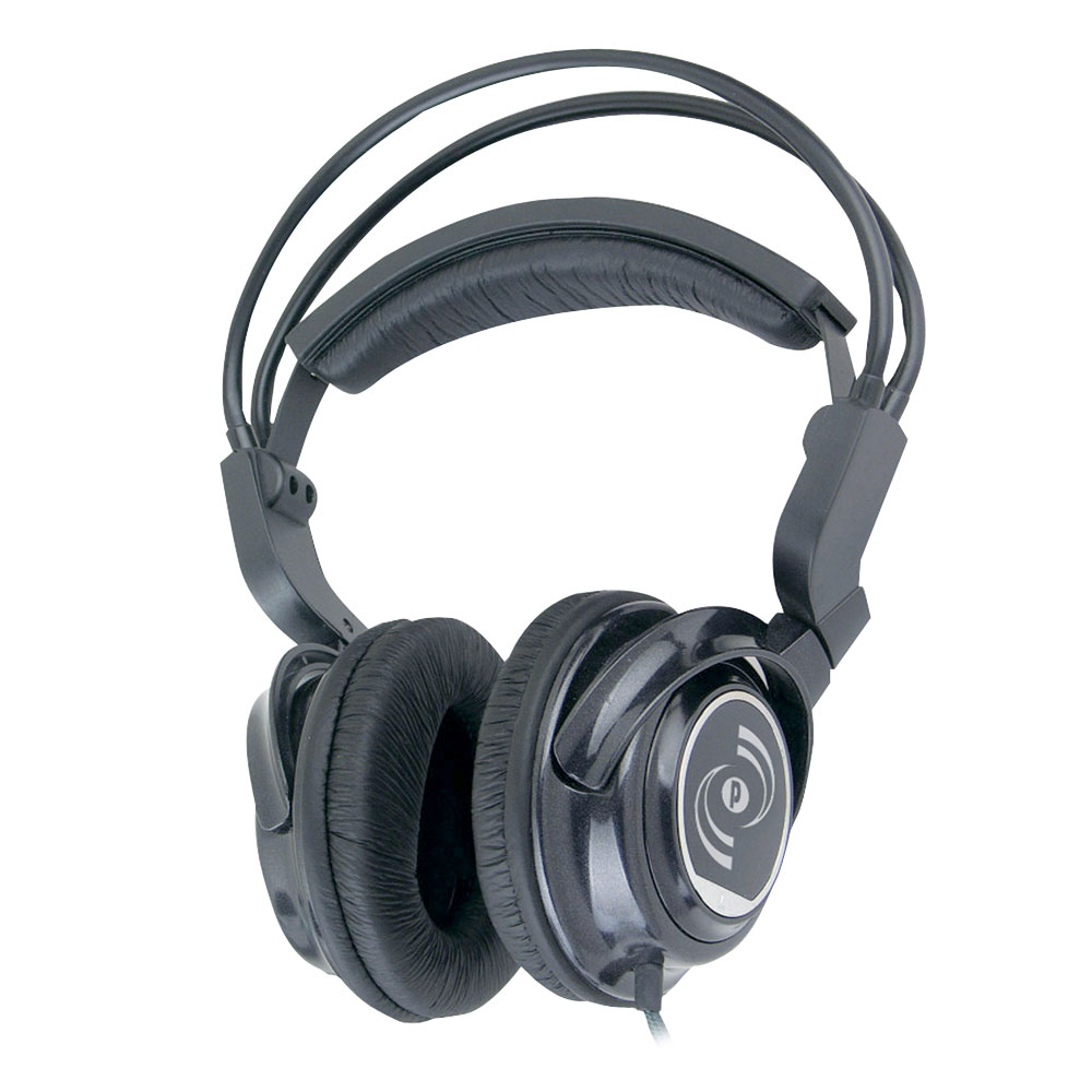 Pyle Phpdj2 Headphone - Stereo - Mini-phone - Wired - 32 Ohm - 20 Hz 22 Khz - Gold Plated - Over-the-head - Binaural - Ear-cup - 9 Ft Cable (phpdj2_6)