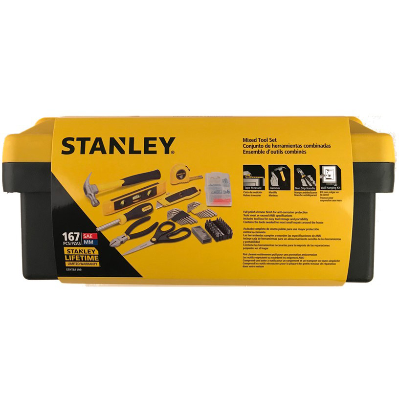Stanley STHT81199 167 Piece Mixed Tool Set