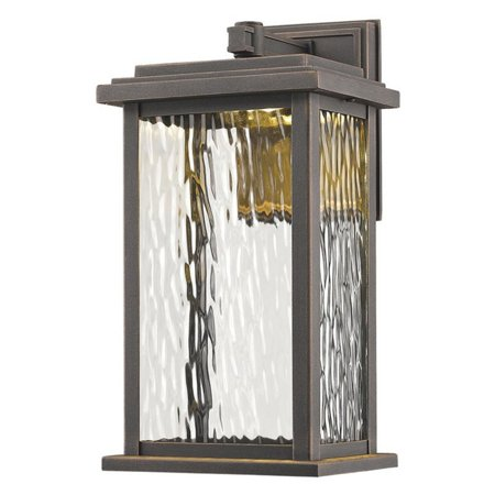 ArtCraft Sussex Drive AC9070 Outdoor Wall Lantern Shimmering water glass panels make the ArtCraft Sussex Drive AC9070 Outdoor Wall Lantern an elegant way to illuminate your outdoor living space. In the roof of the rust-resistant cast-aluminum lantern is an LED lamp that provides bright, energy-efficient illumination. Artcraft Since 1955, Artcraft Lighting has operated on the belief that beautiful lighting should be as much about the experience as the light fixtures themselves. And to create that meaningful experience, Artcraft Lighting strives to provide lighting products that are designed to meet your decor, lifestyle, and budget needs - all while ensuring top quality and impeccable customer service. With Artcraft Lighting products, you can reap the benefits of more than 60 years of lighting experience.
