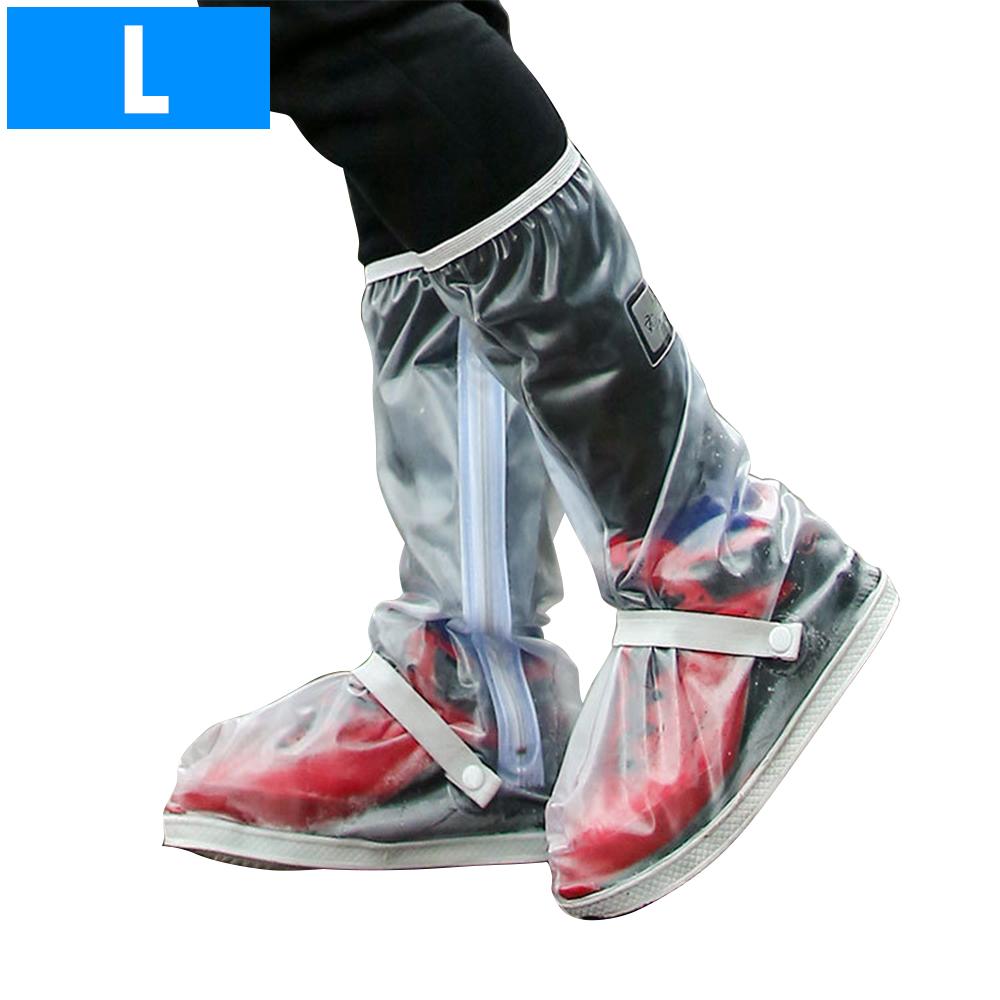 Waterproof Shoes Cover Boots Thick Reusable Overshoes for Rain Snow with