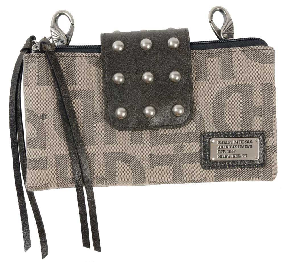 Harley-Davidson Women's Jacquard Double Up Hip Leather Pu...