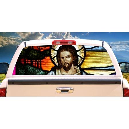 BEACH SCENE Rear Window Graphic decal tint film back view thru vinyl