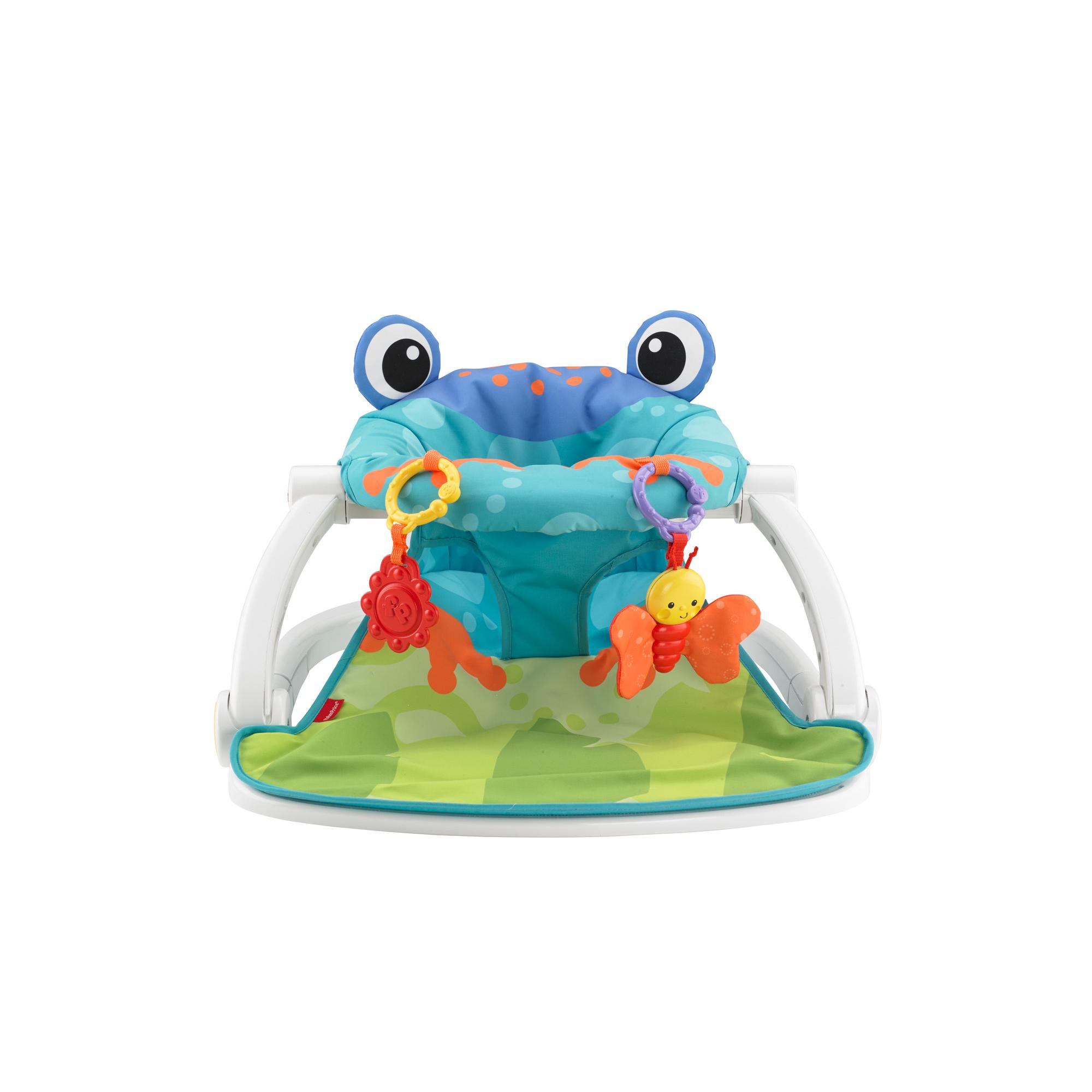 Fisher-Price Sit-Me-Up Froggy Floor Seat With 2-Linkable