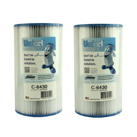 2 New Unicel C-6430 Hot Springs Watkins Spa Filter Replacement Cartridges (Watkins Replacement)