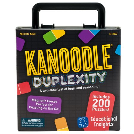 Educational Insights Kanoodle Duplexity Logic and Spatial Reasoning Game