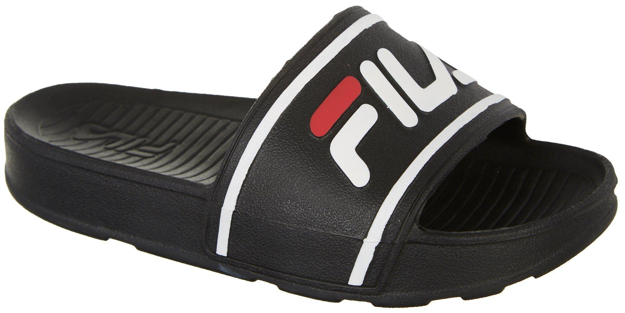 FILA - Fila Boys Sleek Slide Sandals