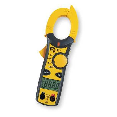 Digital Clamp Meter,600A,600V IDEAL 61-744 by Ideal