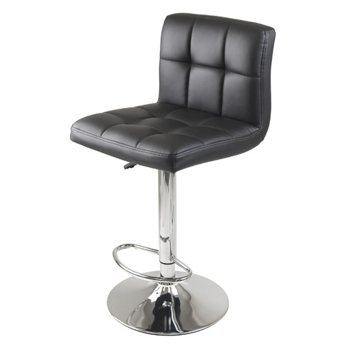 Spectrum 3 Piece Pub Set With Grid Cushion Airlift Stools