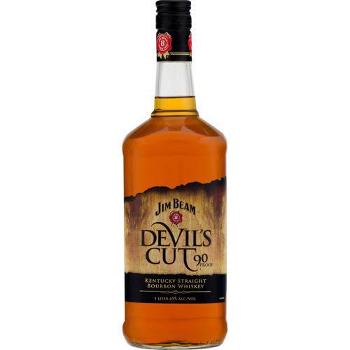 Beam Suntory Inc. James B. Beam Distilling Co. Jim Beam Devil's Cut Bourbon Whiskey, 1.0 L