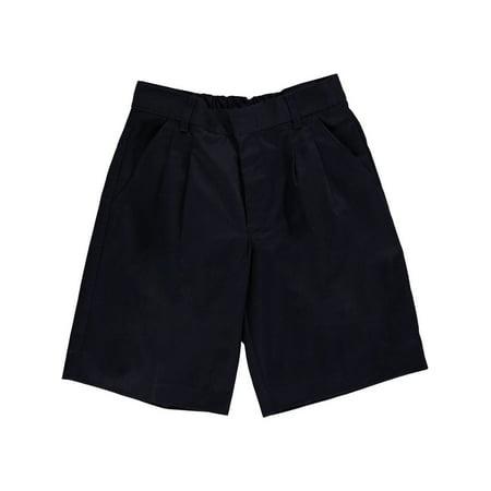 Lavacore Unisex Shorts - Universal Basic Unisex Pleated Shorts (Husky Sizes 8 - 20)
