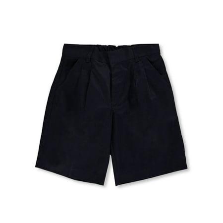 Universal Basic Unisex Pleated Shorts (Husky Sizes 8 - 20)