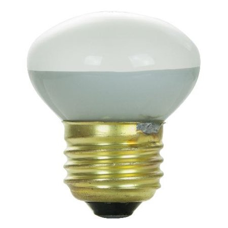 SUNLITE 25W 120V R14 Flood Clear E17 3200k Incandescent Light Bulb ()