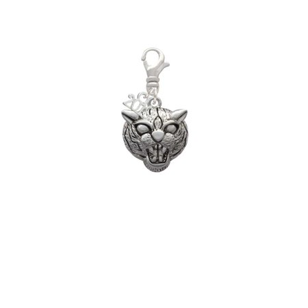 Silvertone Large Wildcat - Mascot - 2019 Clip on Charm