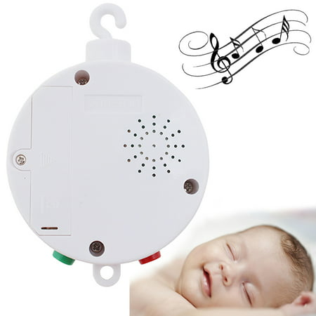 Image Baby Musical Mobile for Crib Battery-operated Music Box w/ 12 Tunes Pass CE/RoHs (Best Battery Operated Baby Mobiles)
