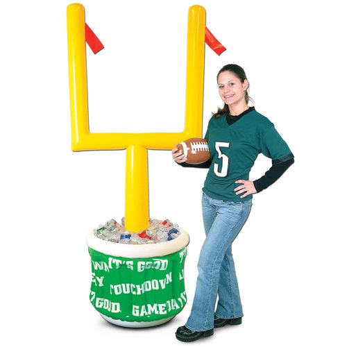 Attirant The Beistle Company 24 Can Inflatable Football Goal Post Cooler