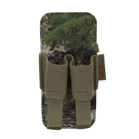 Fieldline Pro Series Large 2 Unit Scent Accessory Holder, Mossy Oak Mountain Country Camouflage for Deer Scent, Cover Scent, or Bug