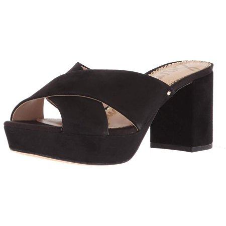 f9d9af17b6a7fd Sam Edelman - Sam Edelman Womens Jayne Suede Open Toe Casual Slide Sandals  - Walmart.com
