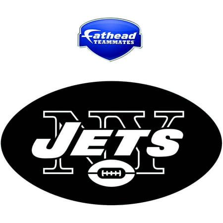 Logo Fathead Basketball - Fathead New York Jets Teammate Logo