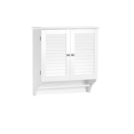 Riverridge Home Ellsworth Collection 2 Door Wall Cabinet White