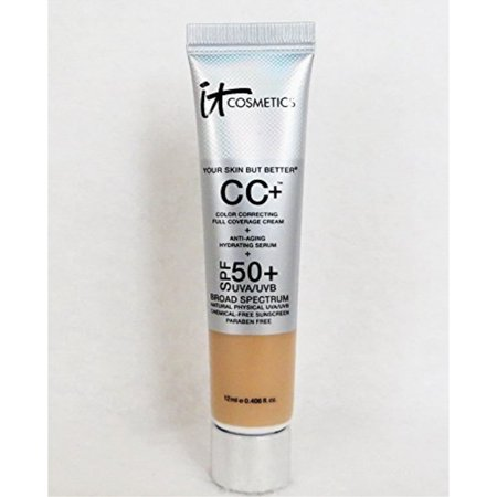 "It Cosmetics Your Skin But Betterâ""¢ CC Cream with SPF 50+ Travel Size Light 0.406oz"