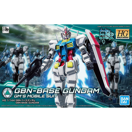 Bandai Hobby Build Divers GBN-Base Gundam HG 1/144 Model Kit