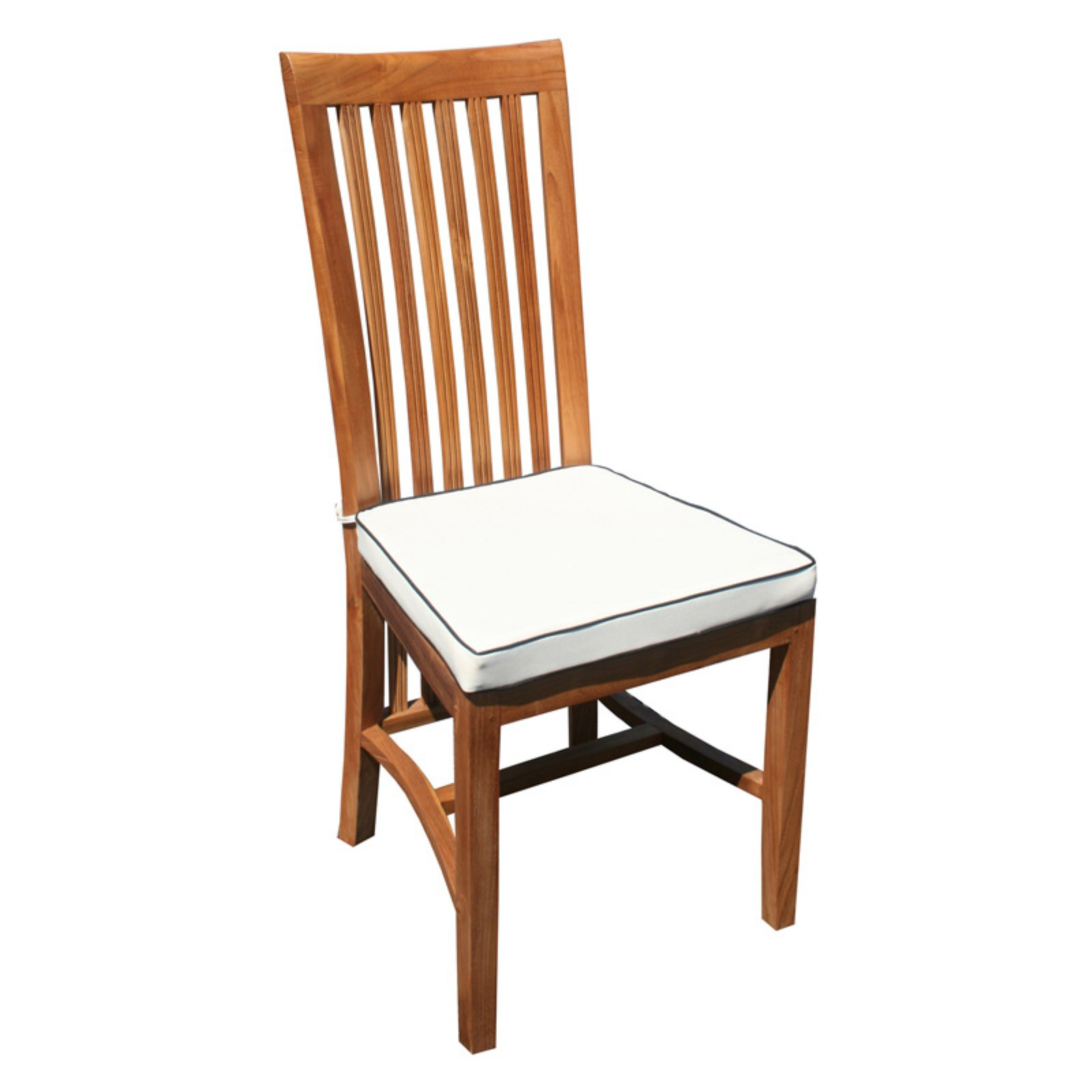Chic Teak West Palm Balero Outdoor Side Chair Cushion by