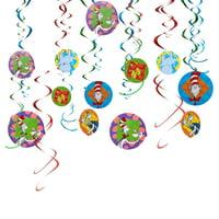 Dr. Seuss 'Polka Dots' Hanging Swirl Decorations (12pc)
