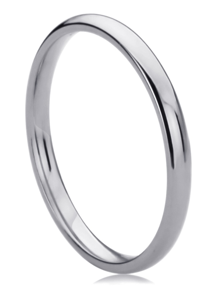 14k White Gold 2mm High Polished Rope Center Design Wedding Band Ring for Men /& Women Size 4 to 15