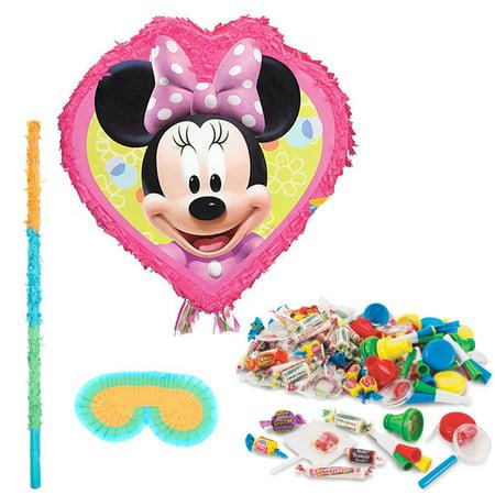 Minnie Pinata Kit - Party Supplies - Minnie Mouse Pinatas