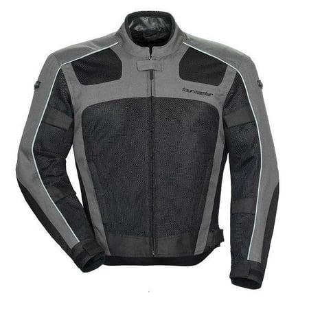 tourmaster draft air series 3 mens textile jacket gray/black