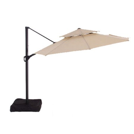 Garden Winds Replacement Canopy Top for Allen Roth Two Tiered Umbrella ()