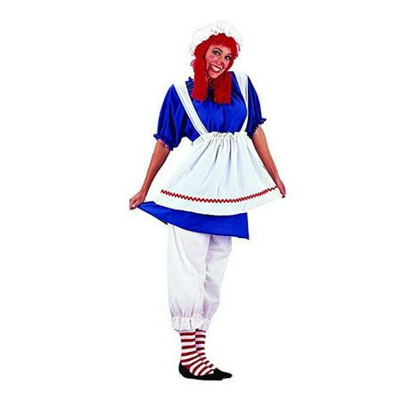 Halloween Rag Doll Adult Costume - Rag Doll Halloween Costumes Adults