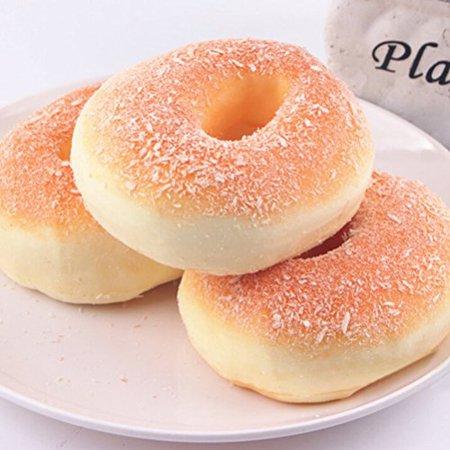 Jumbo Squishy Food Bagels Bread, 1 Piece - Halloween Food Bread