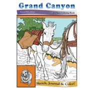 Grand Canyon : National Park, Arizona - A Classy Coloring Book