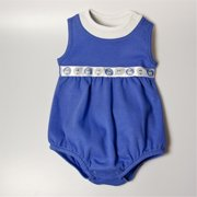 BUBBSDBL1218 Balloon Bodysuit - Dark Blue, 12 -18 months