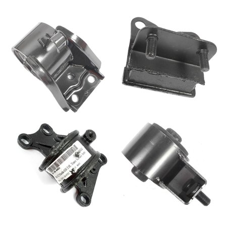 A6480 A6405 A6440 A6463 Fits: 98-00 Mazda 626 2.0L Engine Motor & Trans Mount Kit 4PCS For Auto Transmission. 98 99 00