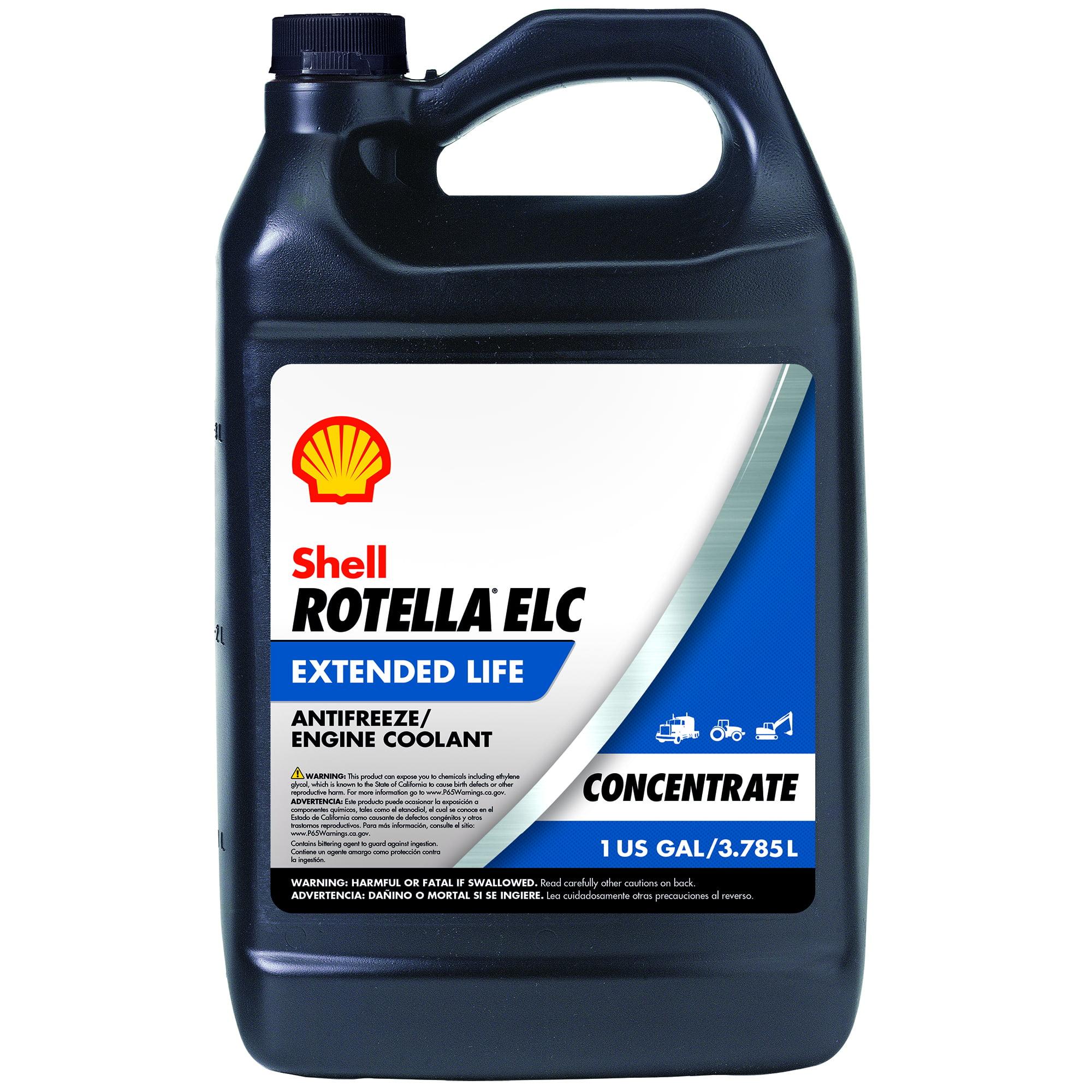 Shell Rotella ELC Antifreeze Concentrate ,1 Gallon