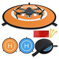 Vivitar 75cm Drone Waterproof Landing Pad for DJI Mavic Pro, Phantom and Other Quadcopters