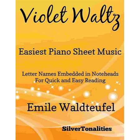 Violet Waltz Opus 148 Easiest Piano Sheet Music - (Waltz Of The Flowers Piano Sheet Music Easy)