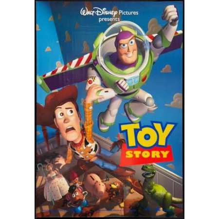 Entertainment Room Decor Toy Story 1 Movie Poster 11inx17in Wall Art - Toy Story Room Decor