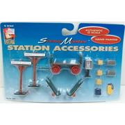 Life Like 1853 O Scale Train Station Accessories