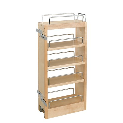 Rev-A-Shelf Wood Hood Pull Out Organizer Pull Out Drawer