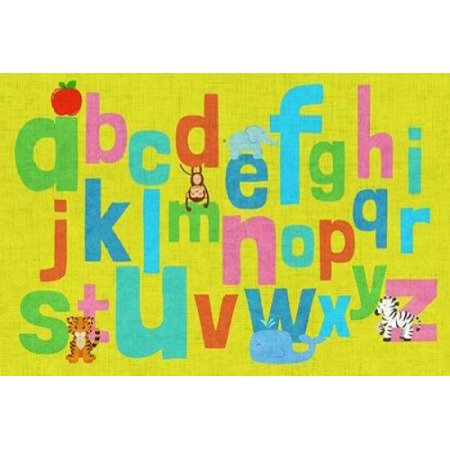 Sd Graphics Studio Stretched Canvas Art - Alphabet of Colors II ...
