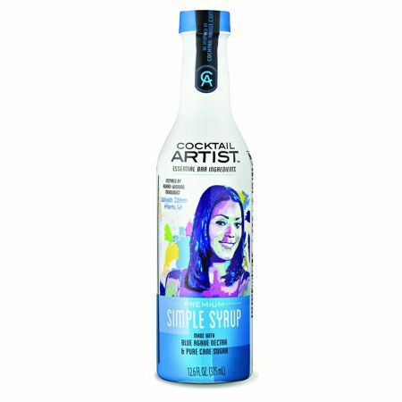 (2 Pack) Cocktail Artist Simple Syrup, 375mL ()