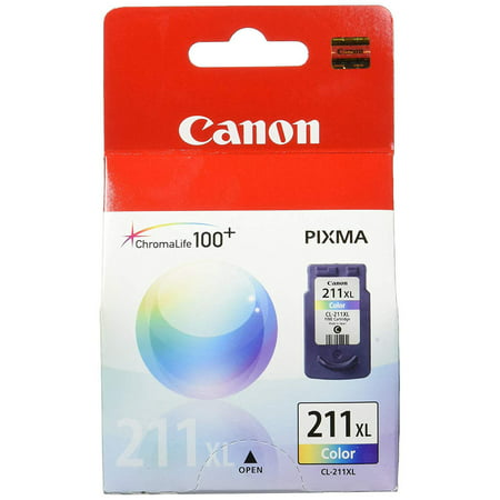 Canon 2975B001 Cl-211Xl High-Yield Ink Cartridge Tri-color ()