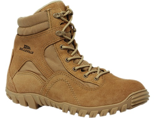 "Belleville 763 Men 6"" Sabre Waterproof Hybrid Assault Boot US Made"