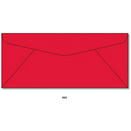 Red Envelopes - Size #10 (4 1/8 x 9 1/2) 250 (Envelope Sizes Envelopes)
