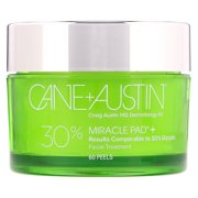 Cane + Austin Miracle Pad, 30% Glycolic Acid, 60 Peels