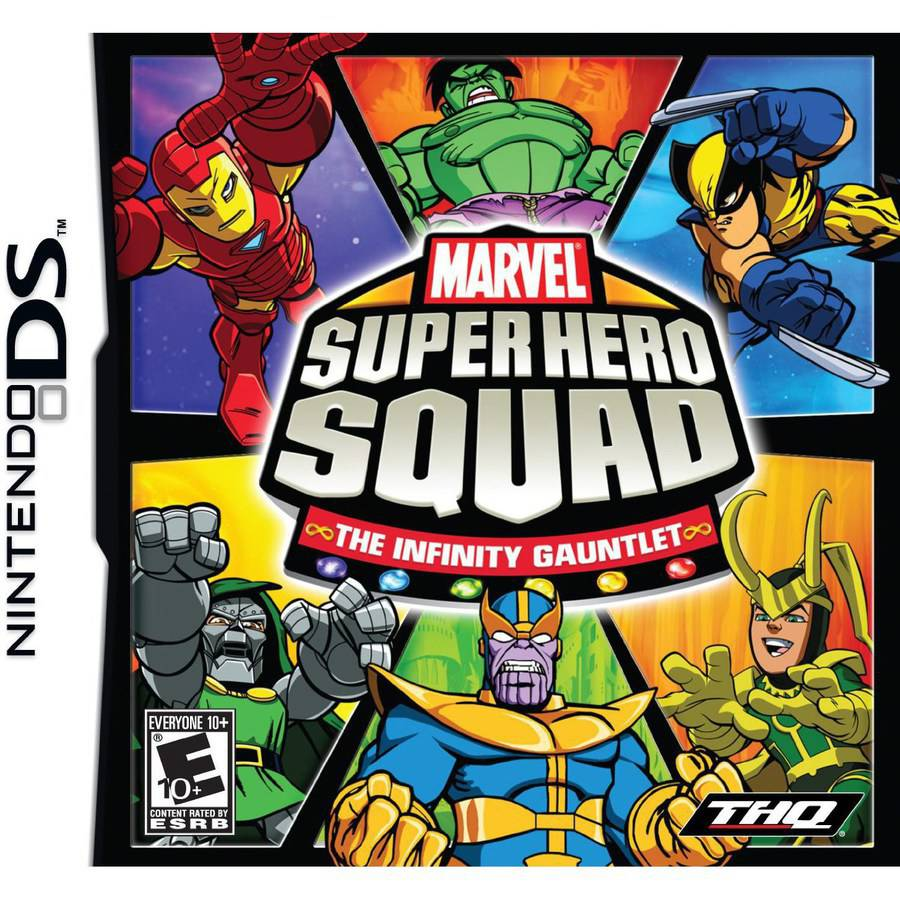 Marvel Super Hero Squad: The Infinity Gauntlet (DS)