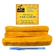 Himalayan Yak Dog Chew, 100% Natural Dog Chews, Value Pack (1/2 LB)